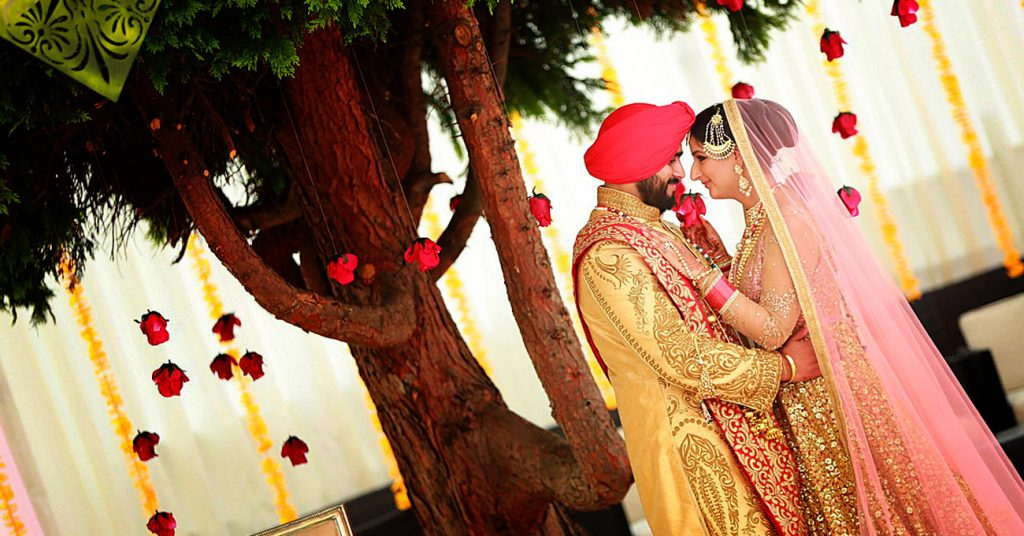 Punjabi Wedding Portrait